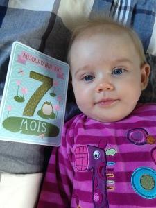 Joyeux 7e mois, BébéCha !