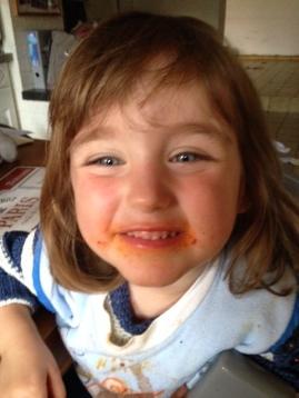 "Un plat de ""pasghettis"", sourire garanti !"