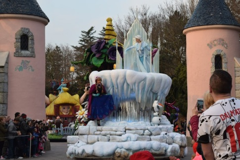Anna et Elsa. Et la journée était faite :-)